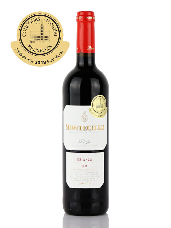 Montecillo Rioja Crianza 2015 - Gold Medal
