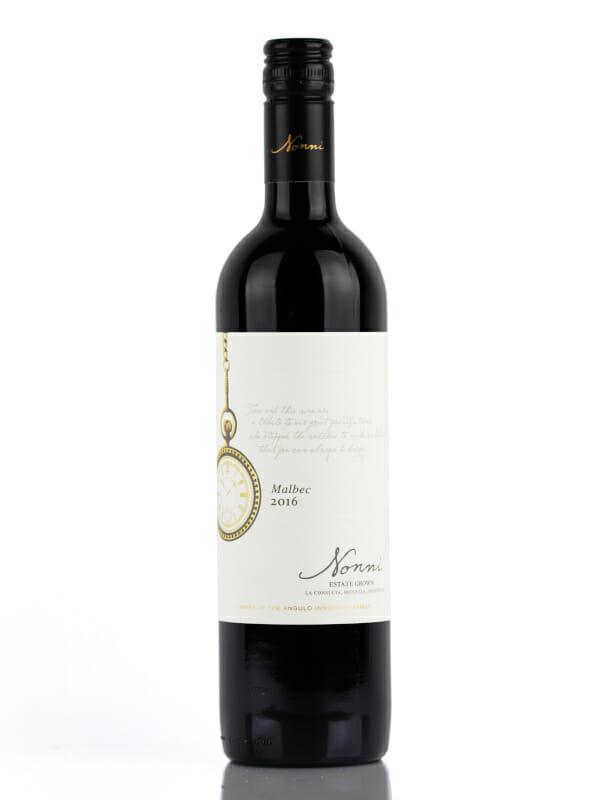 Nonni Malbec wine