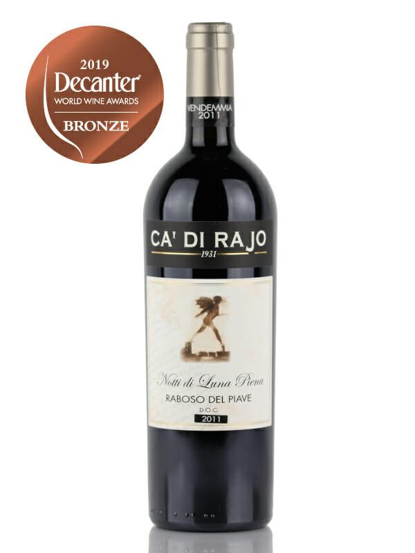 Ca Di Rajo - Notti Di Luna Piena red wine - Bronze Medal