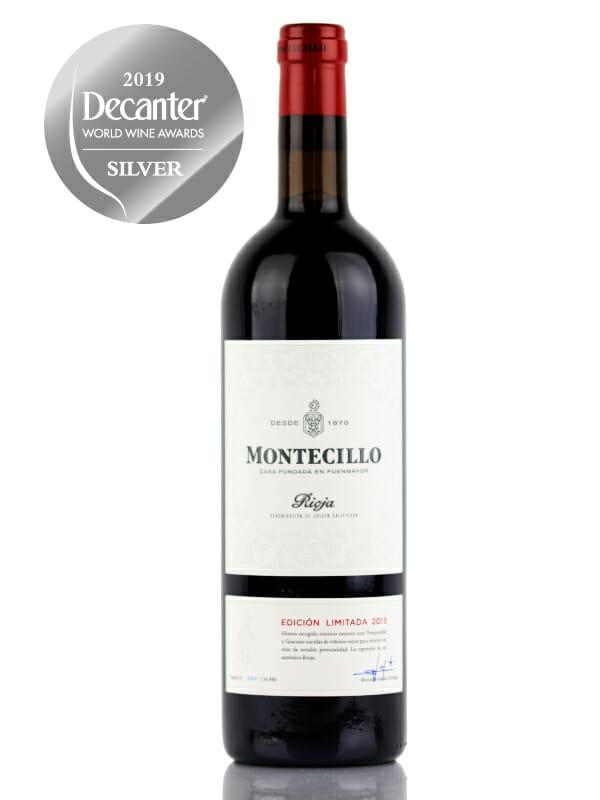 Montecillo Limited Edition Rioja 2013 red wine - Silver Medal