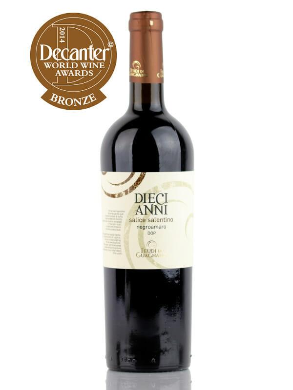 Diecianni Negroamaro Malvasia Nero Salice Salentino DOC red wine
