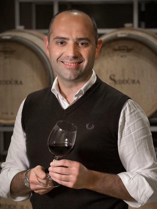 Dino Dini - Winemaker at Siddura winery, Sardinia