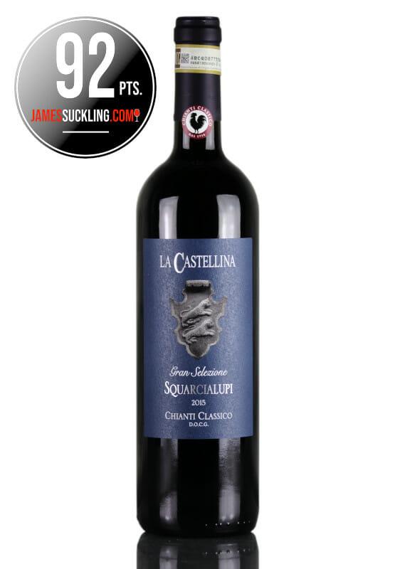 Red wine La Castellina Gran Selezione Chiainti Classico DOCG, 92 pts James Suckling