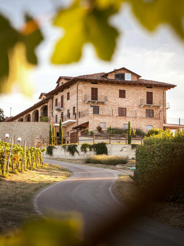 Scagliola family home and winery in Monferrato, Piedmont, Italy