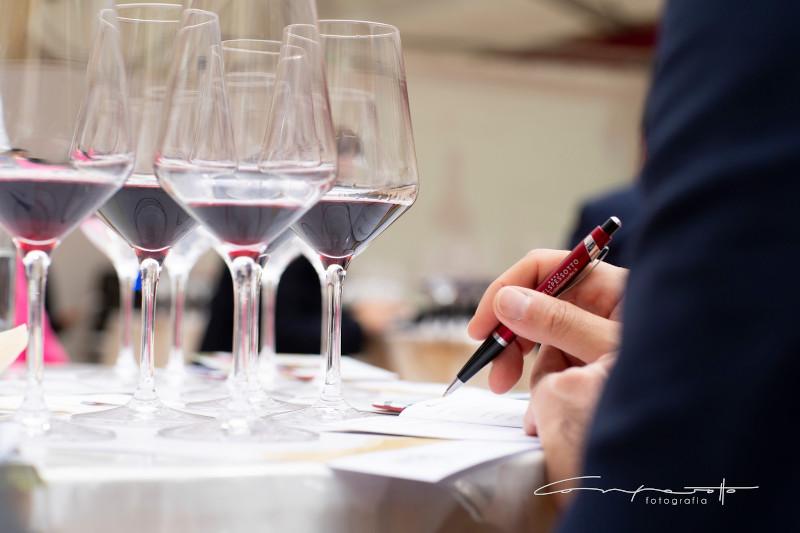 The Merano WineFestival - wine expert scoring red wines