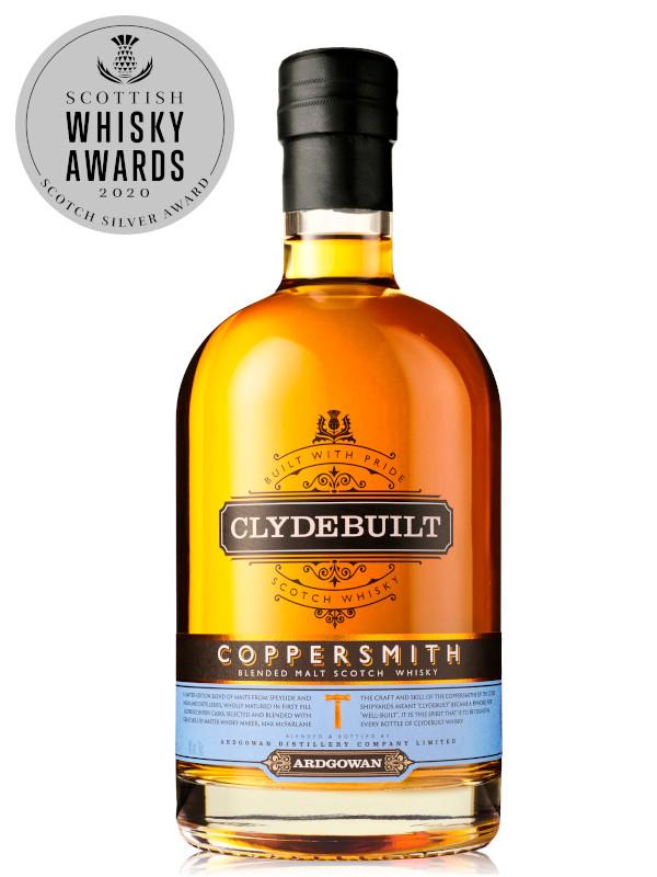 Bottle of Ardgowan Coppersmith Malt Scotch Whisky