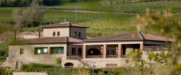 Winery of Castello di Radda in Chianti Classico DOCG area