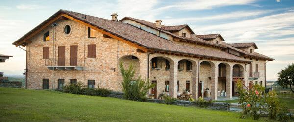 Scagliola Sansi winery in Monferrato, Piedmont