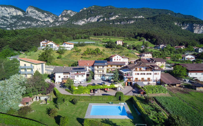 Goldener Adler hotel, Kurtatsch, Alto Adige, Italy