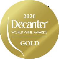 Decanter World Wine Awards 2020 medal - Gold