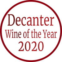 Sign of Decanter Wine of the Year 2020