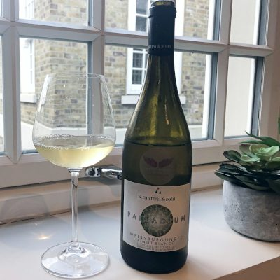 blogger's review of Palladium Pinot Blanc by Independent Wine