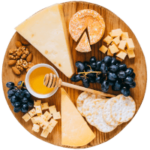 Cheese Board with hard cheeses