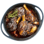 Lamb shank with spices