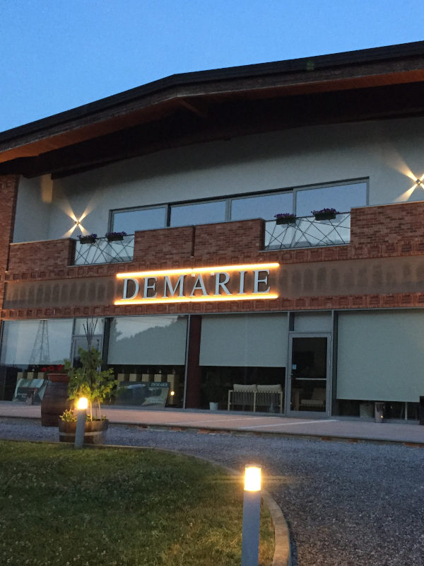 New eco-sustainable cellar of Demarie in Roero, Piemonte, Italy