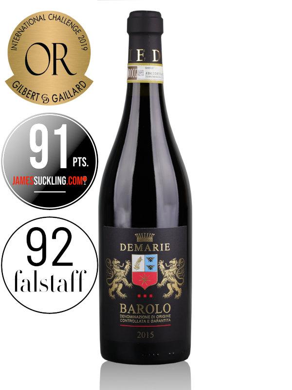 Red wine Demarie Barolo DOCG 2015 Piemonte, Italy