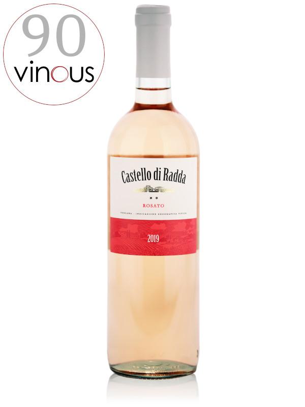 Bottle of Sangiovese Rosé wine - Castello di Radda Rosato 2019