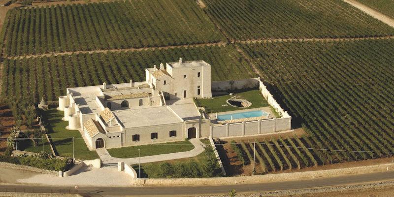 Carvinea winery - producers of Primitivo and Negroamaro wines, Carovigno, Salento IGT, Puglia, Italy