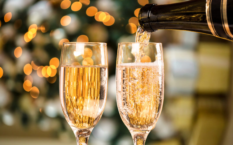 Italian Sparkling wine aperitif