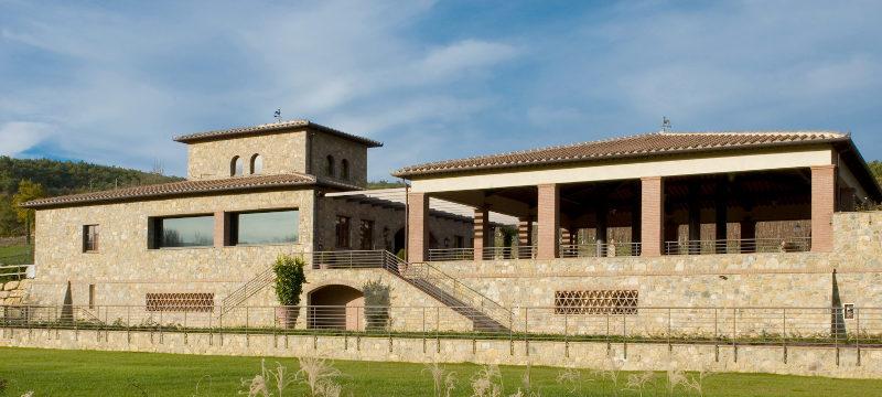 Castello di Radda winery main building