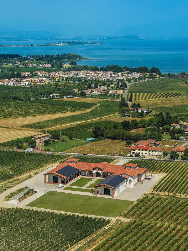 Le Morette winery near Lake Garda in Lugana DOC, Veneto