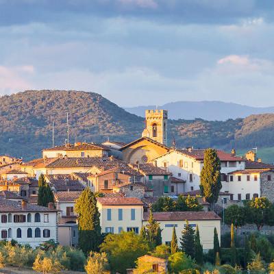 Radda in Chianti, Chianti Classico DOCG area, Tuscany, Italy