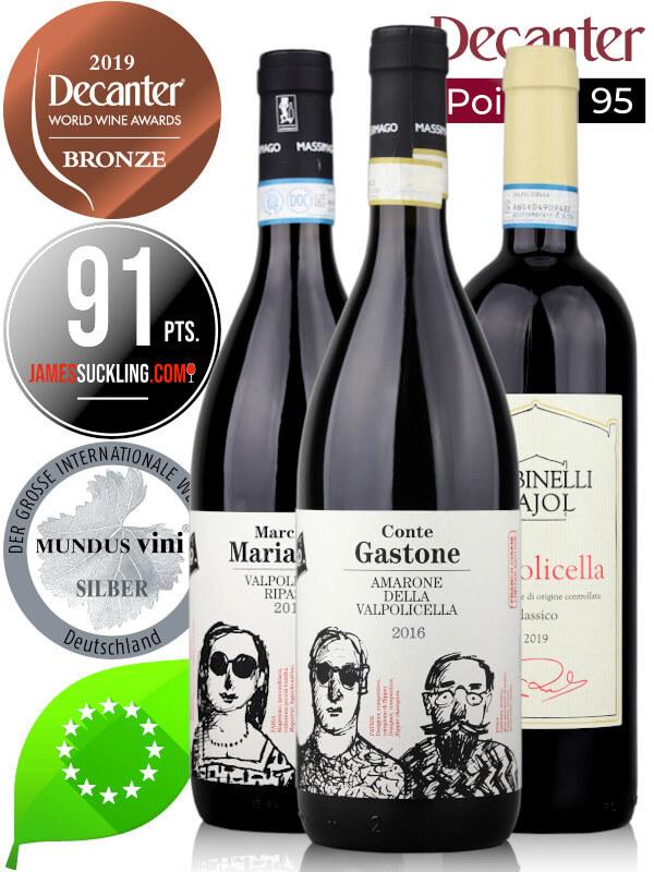 Virtual Wine Tasting - award-winning Italian wines, Vapolicella, Valpolicella Ripasso and Amarone