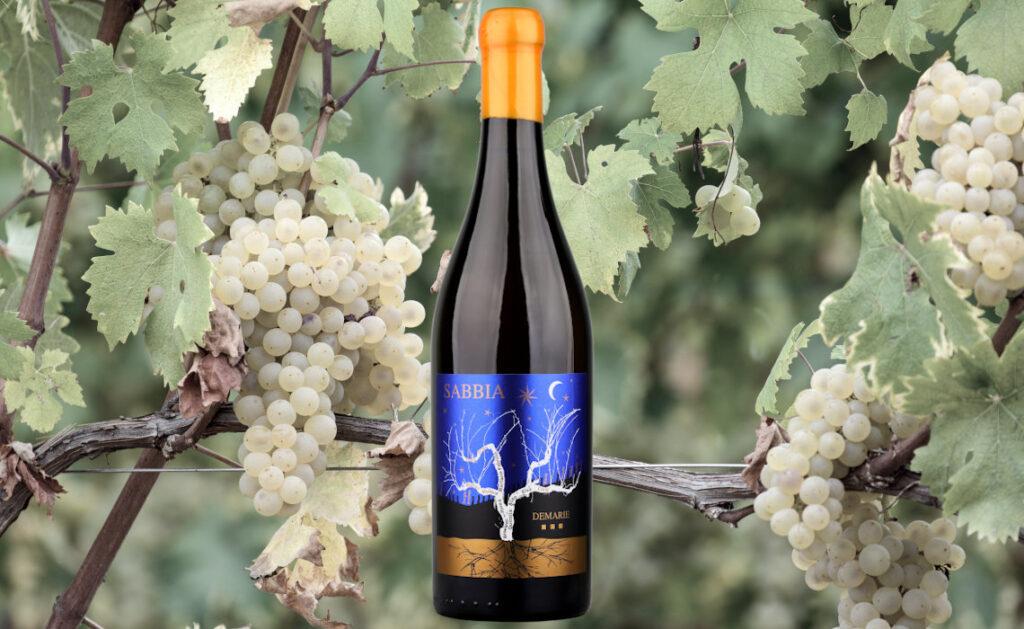 Demarie Sabbia orange oak-aged Arneis wine from Roero, Piedmont, Italy