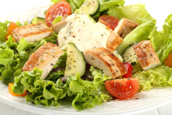 Italian Chicken Salad - Insalata con pollo