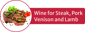 Icon of grilled steak - Italian wines for steak, pork, venison and lamb
