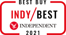 Indy Best / Best Buy logo for wines of Independent Wine selected by The Independent as Indy Best